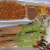 Taquitos Combo Plate